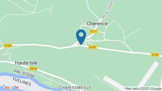 La Petite Ferme - Les Chambres Map