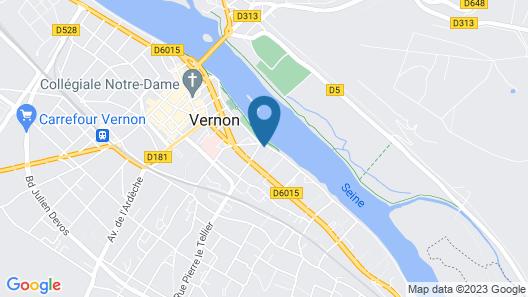 Les terrasses sur Seine Map