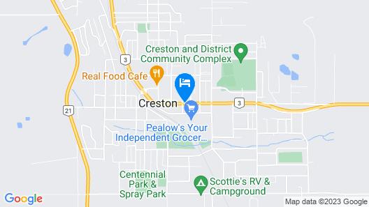 Downtowner Motor Inn Map