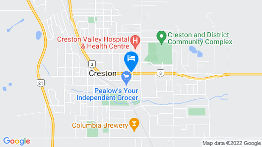 Creston Hotel Map