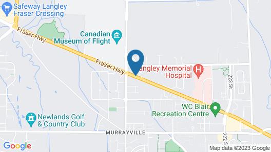 Travelodge by Wyndham Langley Map