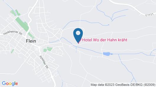 Hotel Wo Der Hahn Kräht Map