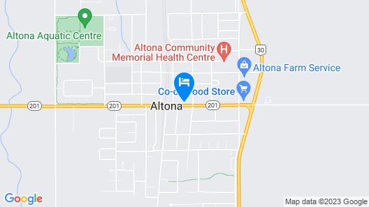 Altona Hotel Map
