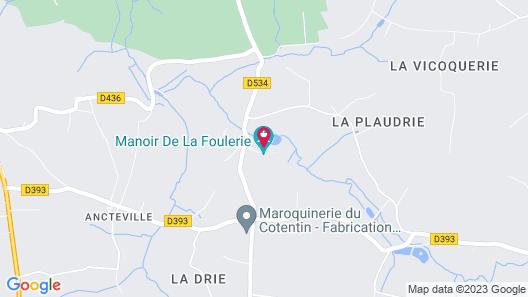 Manoir De La Foulerie Map