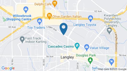Days Inn & Suites by Wyndham Langley Map