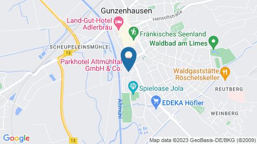 Parkhotel Altmühltal Map