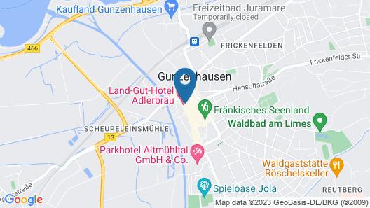 Hotel Adlerbräu Map