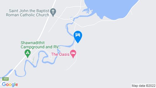 The Oasis Motel Map