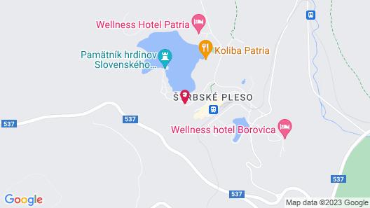 Grand Hotel Kempinski High Tatras Map