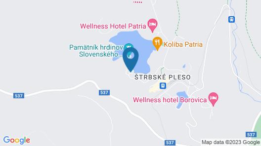 Hotel Solisko Map