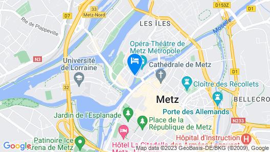 Hôtel du Théâtre Map