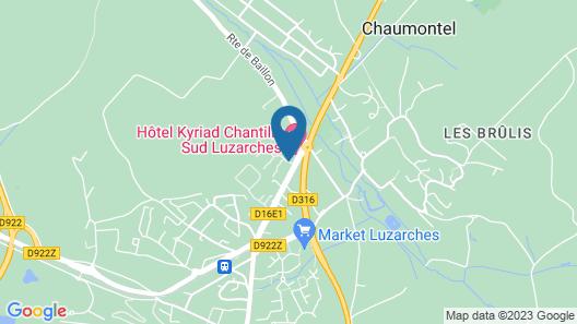 Premiere Classe Chantilly Sud-Luzarches Map