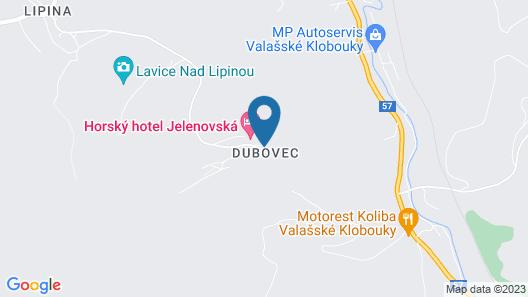 Horský Hotel Jelenovská Map