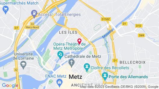 ibis Metz Centre Cathédrale Map
