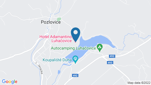 Hotel Adamantino Map