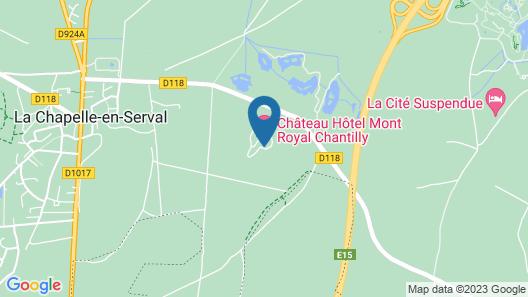 Tiara Chateau Hotel Mont Royal Map