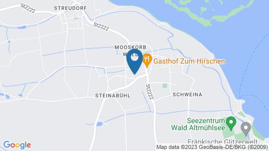 Haus Liebevoll und Bauwagen Mäxle Map