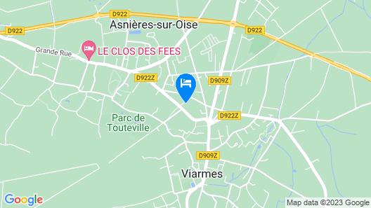 Auberge la Renaissance Map