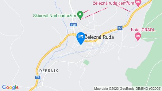Penzion 103 Map