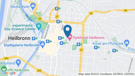 Parkhotel Heilbronn Map