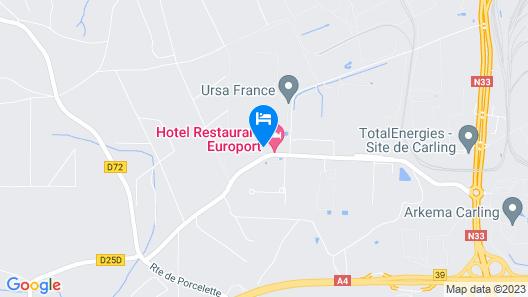 Hotel de l Europort Map