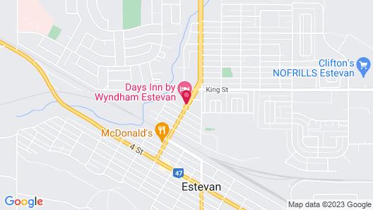 Days Inn by Wyndham Estevan Map