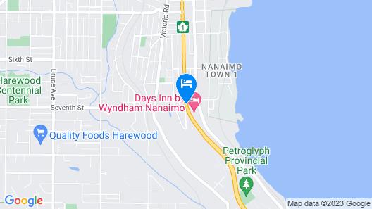 Days Inn by Wyndham Nanaimo Map