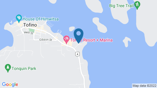 Tofino Swell Lodge Map
