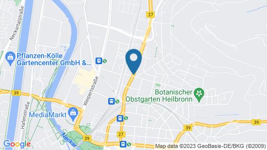 Stadthotel Heilbronn Map