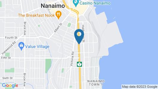 Harbour Light Motel Map
