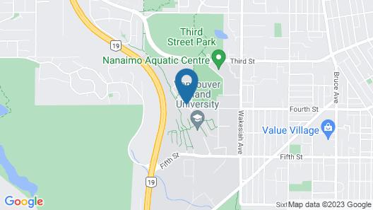 Vancouver Island University Residences Map