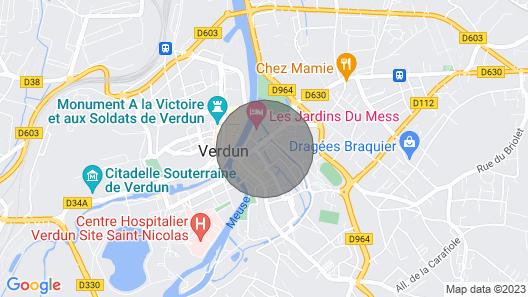 eingeschossiges Herz von Verdun Map