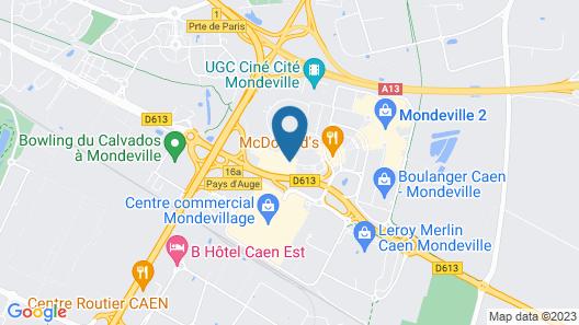Premiere Classe Caen Est - Mondeville Map