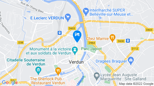 Hotel saint Paul Map