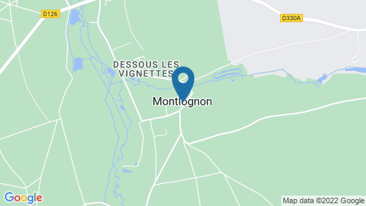 House With 2 Bedrooms in Montlognon, With Enclosed Garden Map