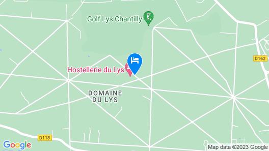 Hipotel Hostellerie du Lys Map
