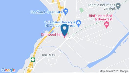 Driftwood Inn Map