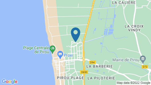 Rent House 200m From the sea Map