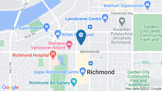 DT Richmond condo by Elevate Rooms Map