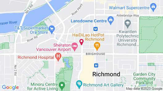 Hilton Vancouver Airport Map