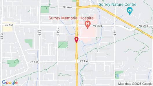 Grouse Creek Motel Map