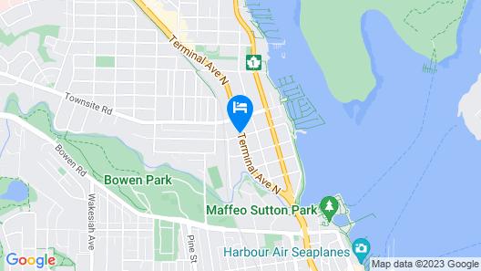 Ramada by Wyndham Nanaimo Map