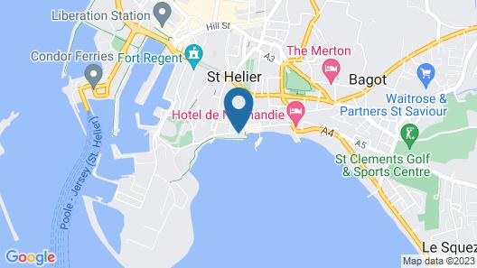 Marina Metro Hotel Map