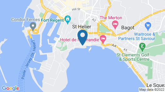 Bay View Guesthouse Map