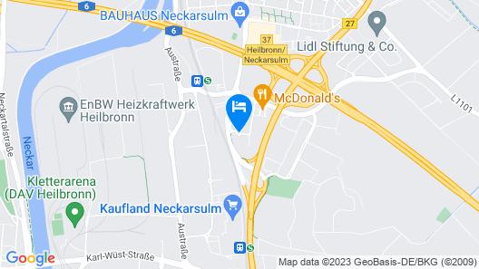 Vienna House Easy Neckarsulm Map