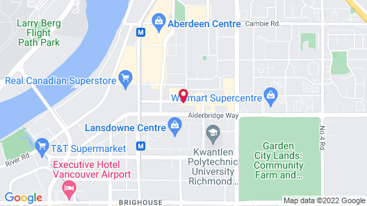 Four Points by Sheraton Vancouver Airport Map