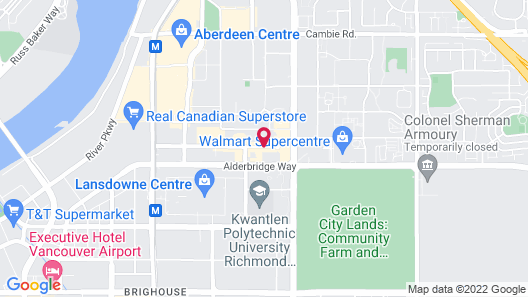 La Quinta Inn by Wyndham Vancouver Airport Map