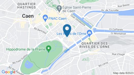 Modern 45m2 Apartment -hypercentre Caen-high end Map