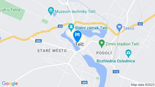 Dům Hradební Telč Map