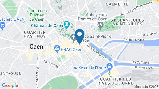 Hotel du Chateau Map